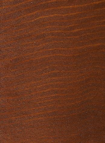 Walnut on Western Red Cedar